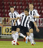 Adidas jersey FC Partizan for season 2011/12