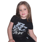 Kids female T-shirt 'PFC Girl' (size 8-14) 3196