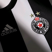 Adidas jersey FC Partizan for season 2015/16 with name